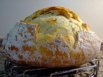 Kıtır Kabuklu Ekşi Mayalı Somun Ekmekler