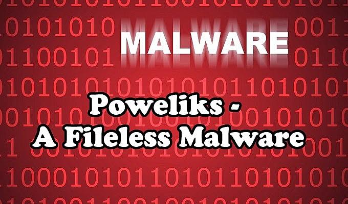 Poweliks Zararlı Kayıt Defterinde Oluşan Yazılım Türü