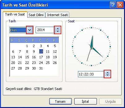 Daha Fazla Görüş ve Otomatik Saat(5-6)
